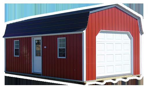Gambrel Lofted Garage