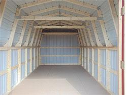 Inside Of Mini Barn