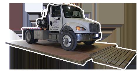 Truck On Heavy Duty Floor