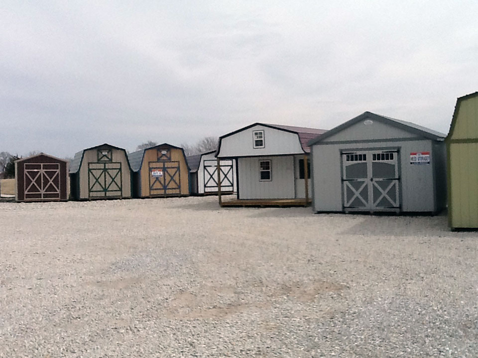 MidWest Storage Barns Lot
